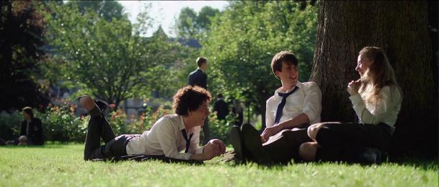 Les garçons et Guillaume campus