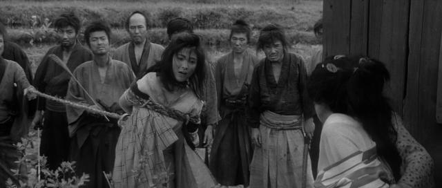 3 samouraïs hors-la-loi otage