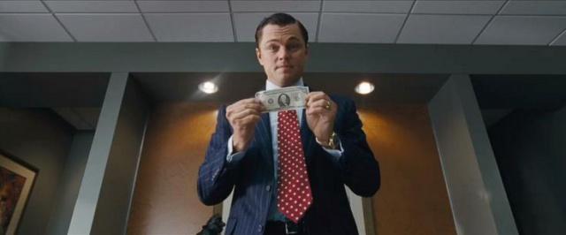 Le Loup de Wall Street argent