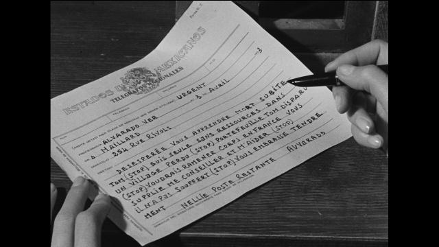 Les orgueilleux telegramme